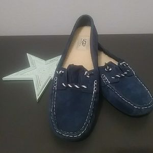 "NWOT- Ugg ""Blue Suede Shoes"""